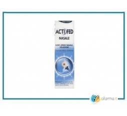 ACTIFED NASALE 0,050% SPRAY NASALE SOLUZIONE 15ML