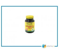 Nature's Plus Vitamina D3 5000 ui 60 Capsule