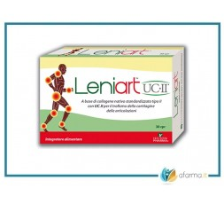 LENIART UC-II Plus 30 Compresse. Integratore per cartilagine e articolazioni